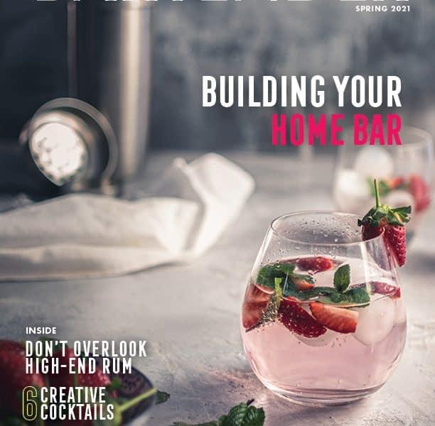 Bartender Magazine Spring 2021 cover